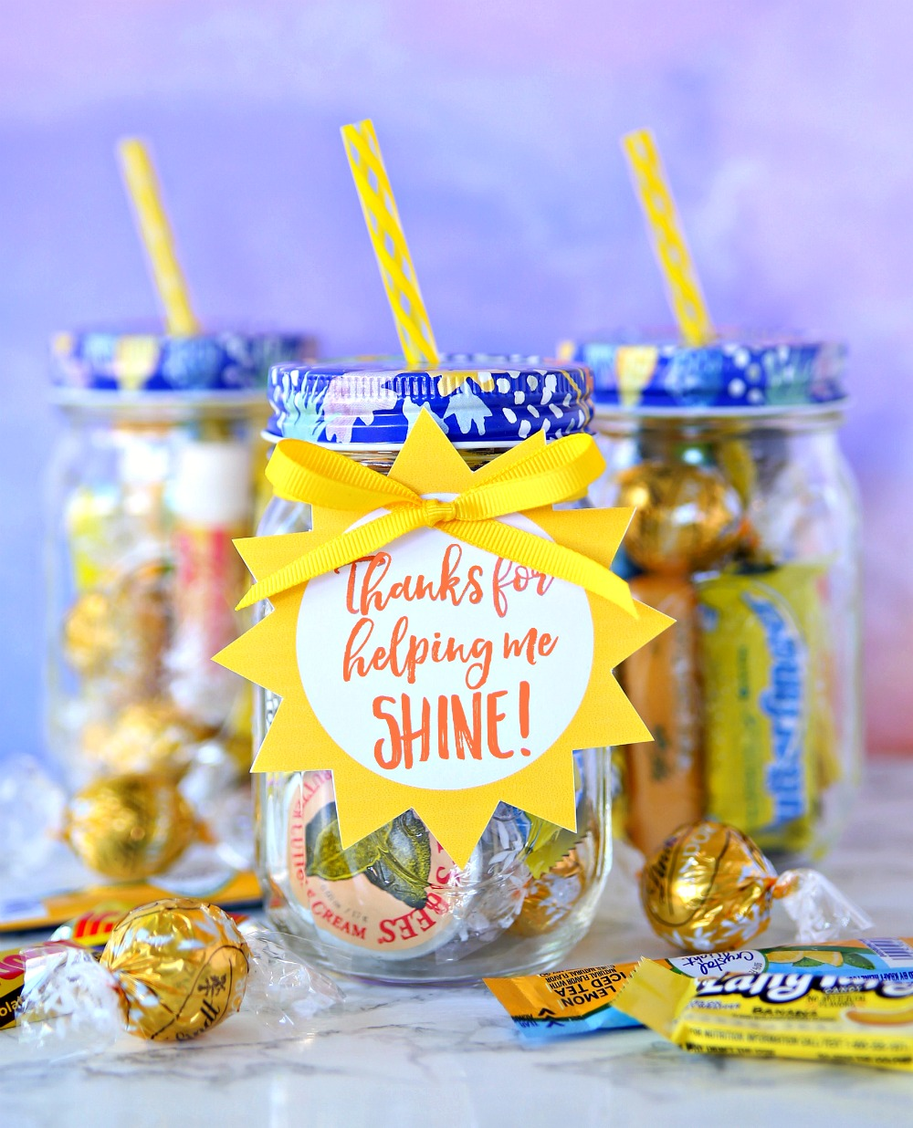 Teacher Appreciation Gift Jar of Sunshine