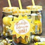 Teacher Jar of Sunshine Gift