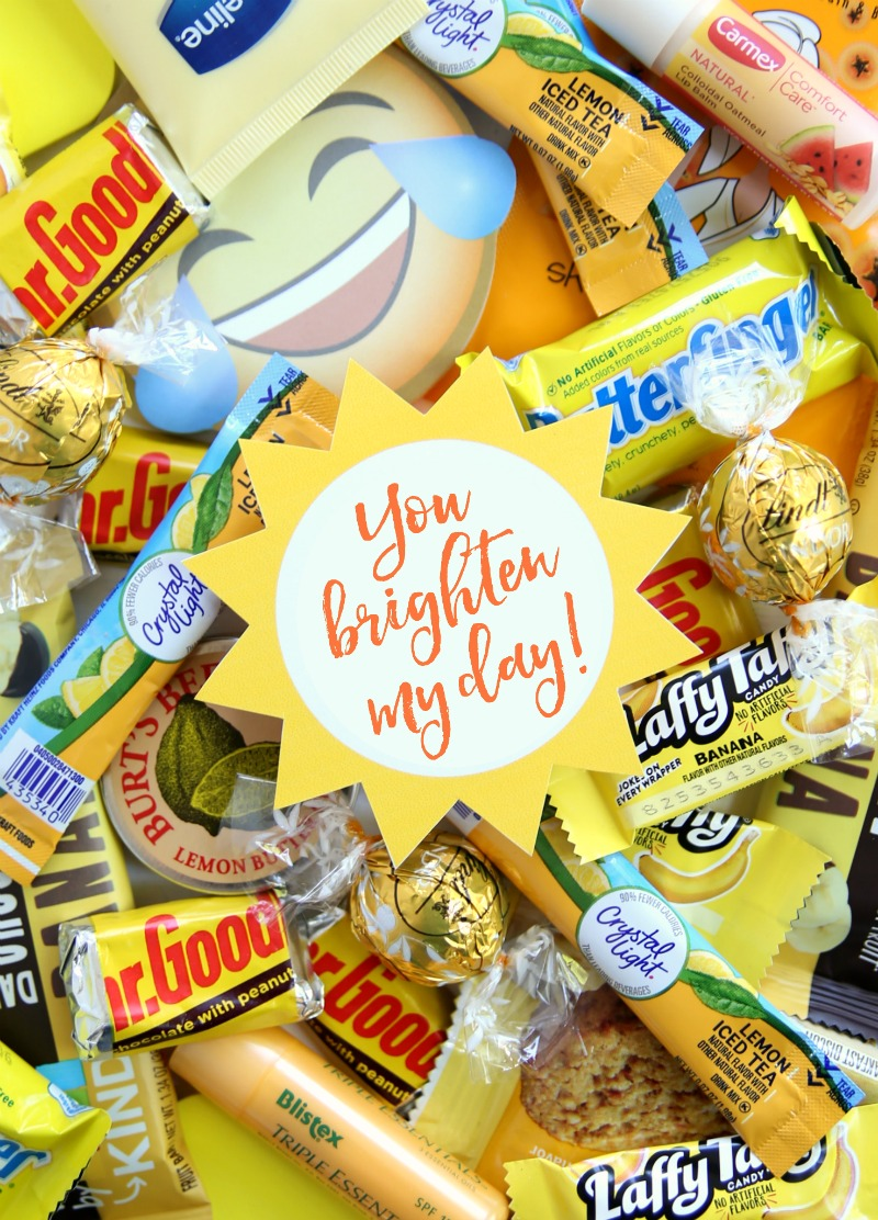 Teacher Sunshine Jar Yellow Items