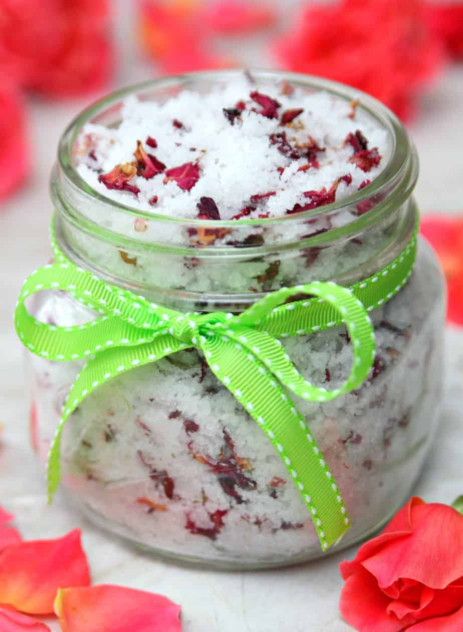 Vanilla Rose Sugar Scrub 3