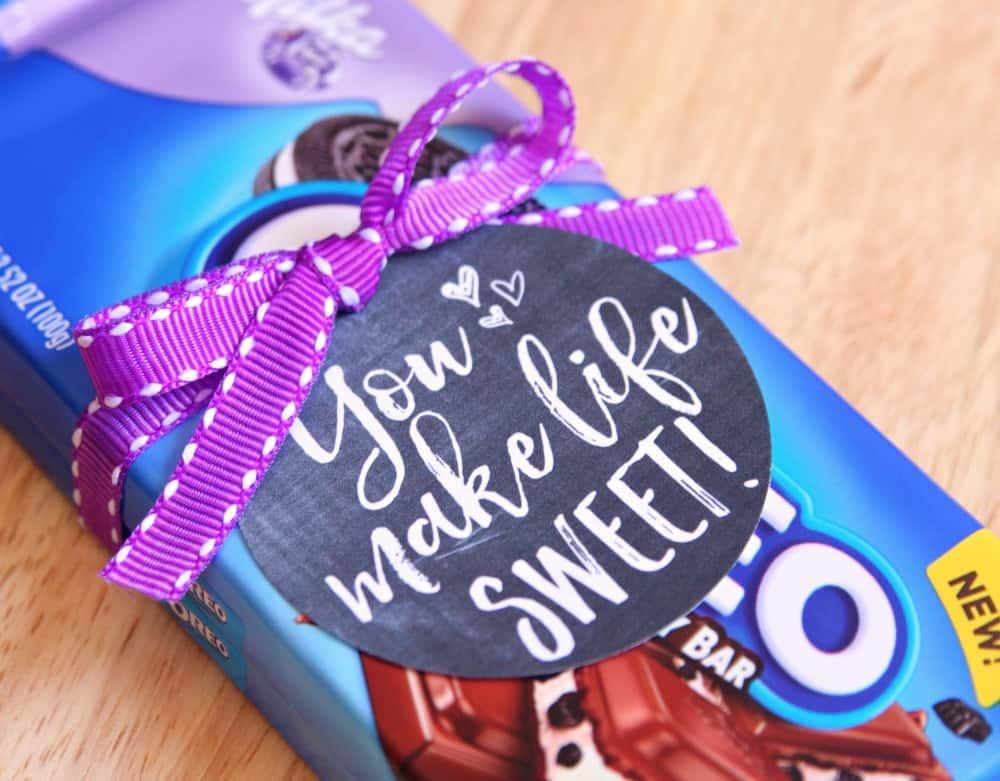You make life sweet