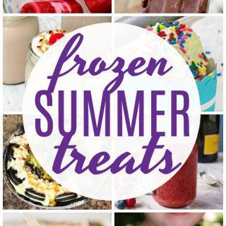 Frozen Summer Treats {Create Link Inspire Party}