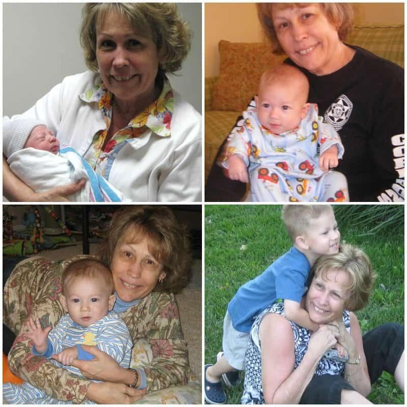 grandmother collage