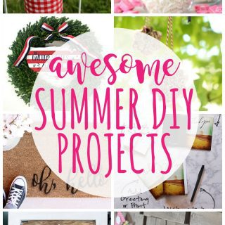 Summer DIY Projects {Create Link Inspire Party}