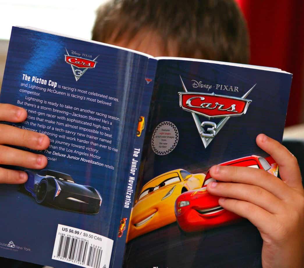 Cars 3 book