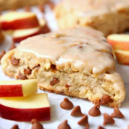 Cinnamon Apple Scones