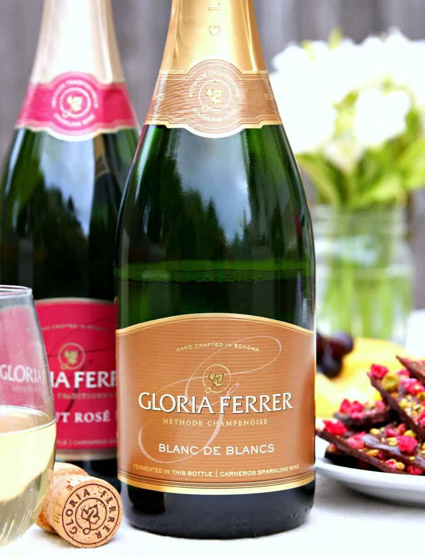 Raspberry Chocolate Bark Gloria Ferrer Wine