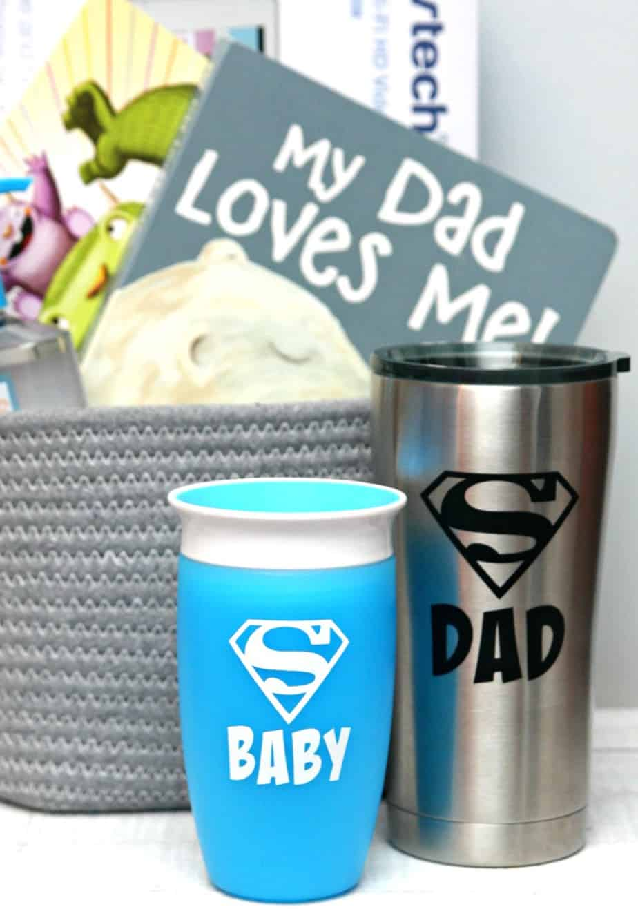 New Dad Gift Basket - Happy-Go-Lucky