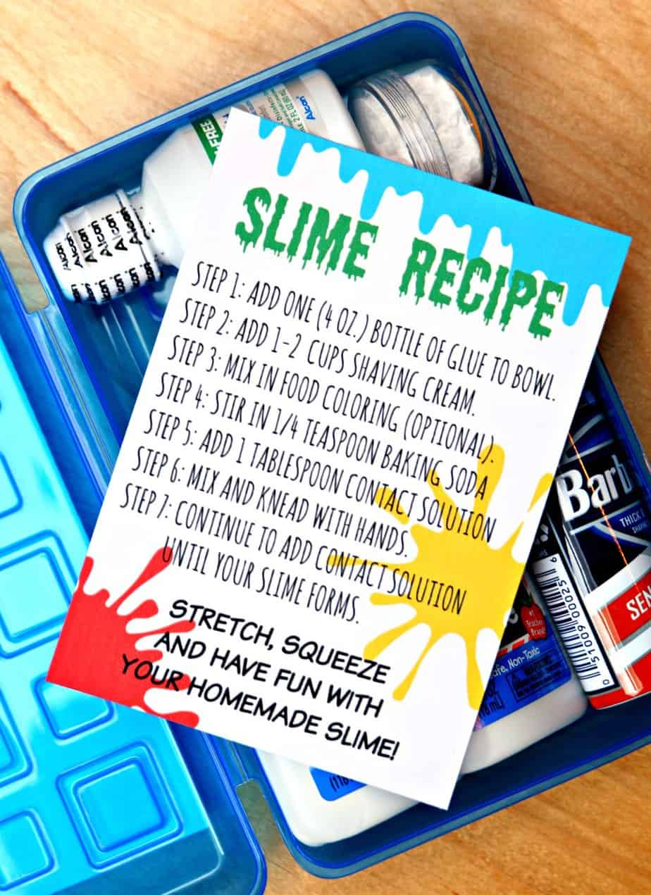 picture relating to Slime Recipe Printable titled Do-it-yourself Slime Package - Produce your particular slime package inside 5 minutes