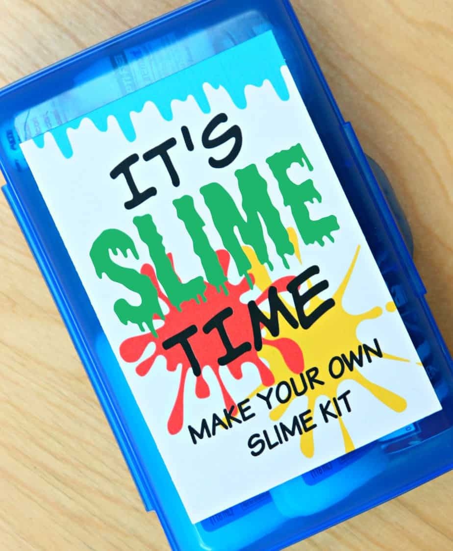 DIY Slime Kit - Make your own slime kit in 5 minutes