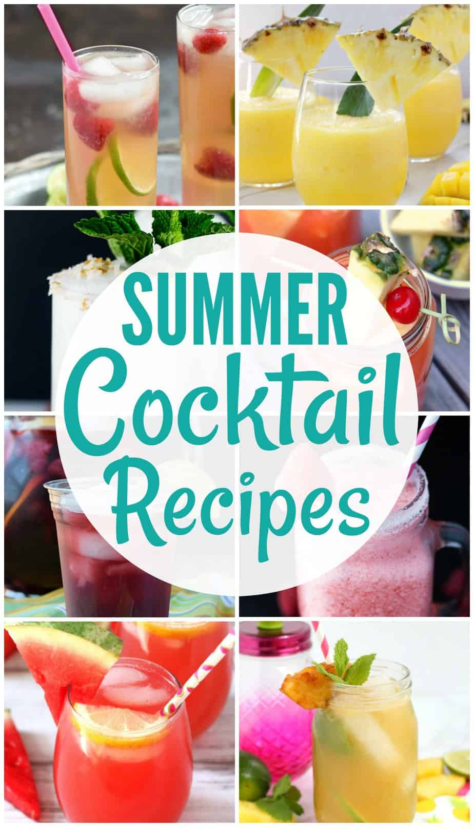 28 40 Easy Summer Cocktail Recipes Summer Cocktails