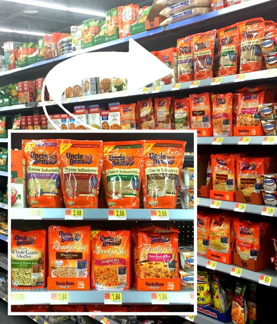 Uncle Ben's Flavor Infusions @Walmart