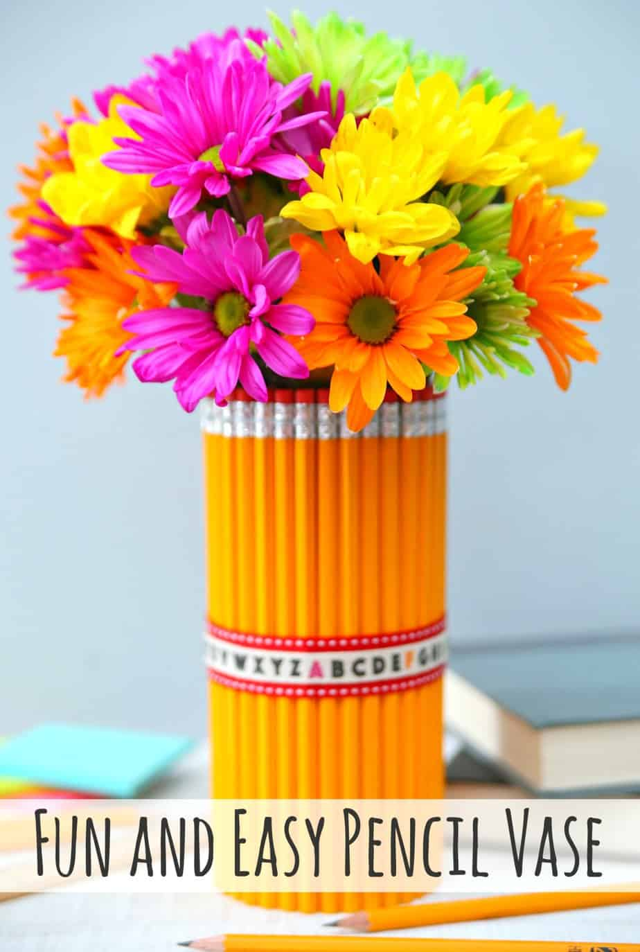 Fun and Easy Pencil Vase 1