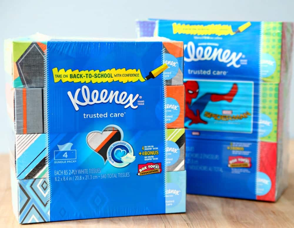 Kleenex Back-to-School