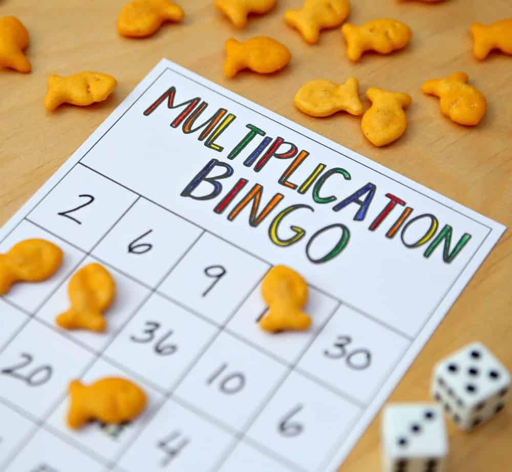 graphic regarding Multiplication Bingo Printable named Multiplication Bingo