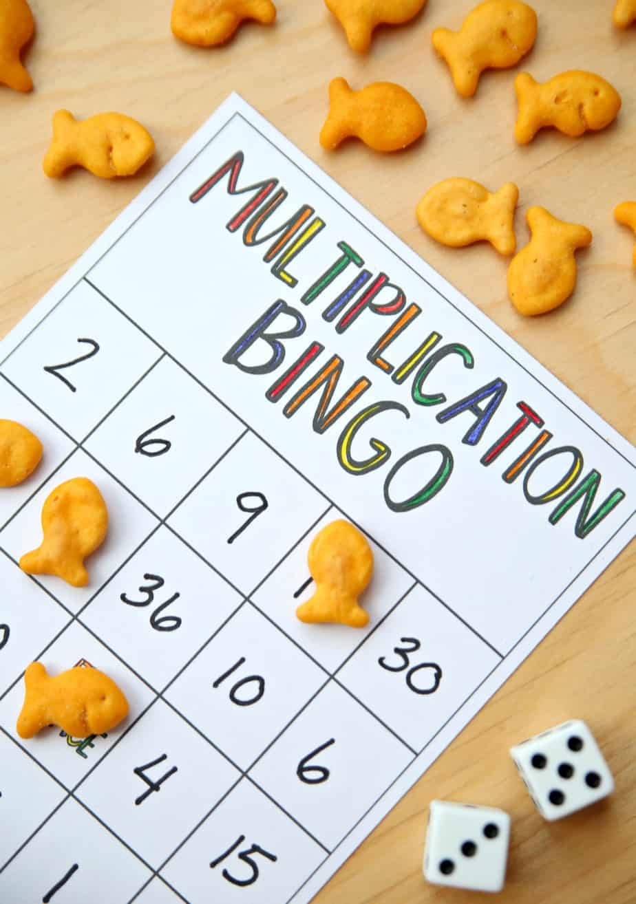 This is a graphic of Accomplished Printable Multiplication Bingo