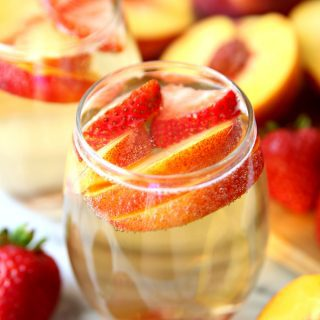 Peach Champagne Punch