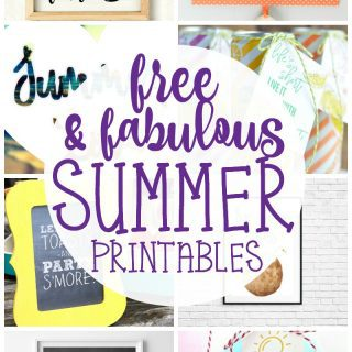 Free Summer Printables {Create Link Inspire Party}