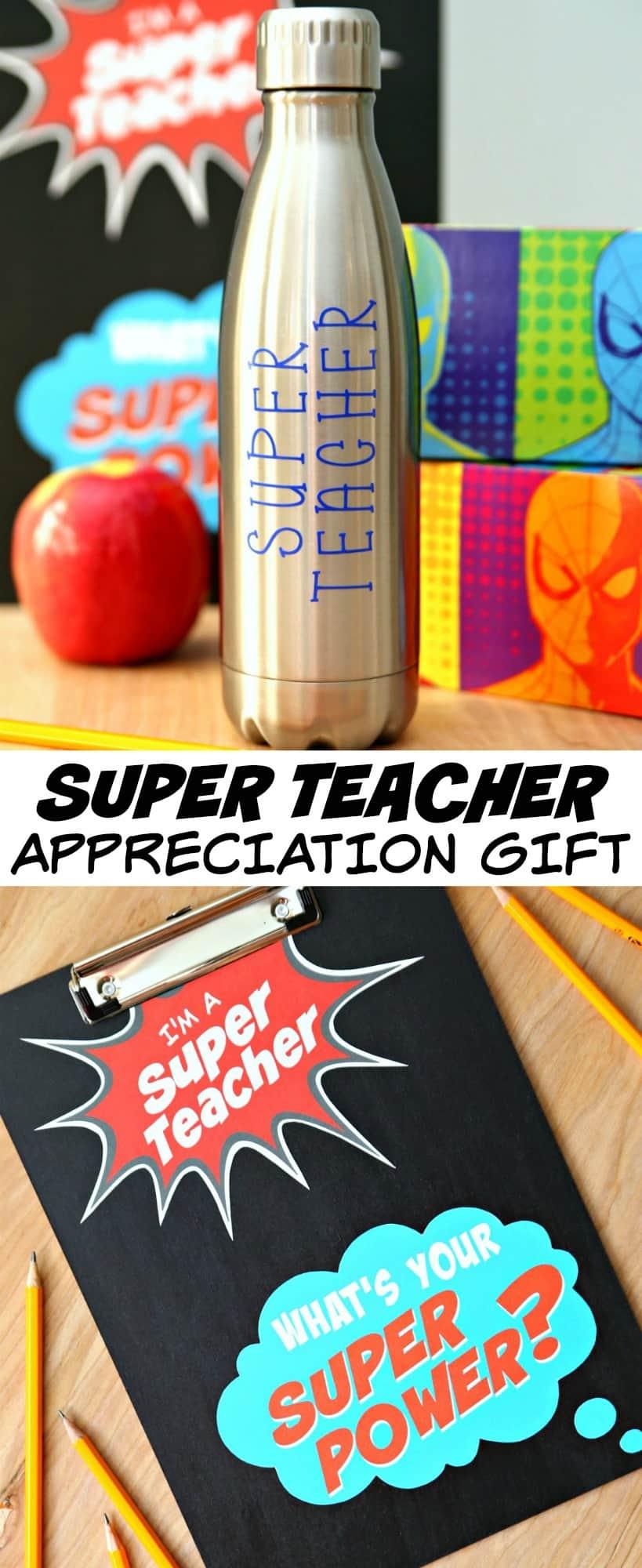 Super Teacher Appreciatio Gift 2