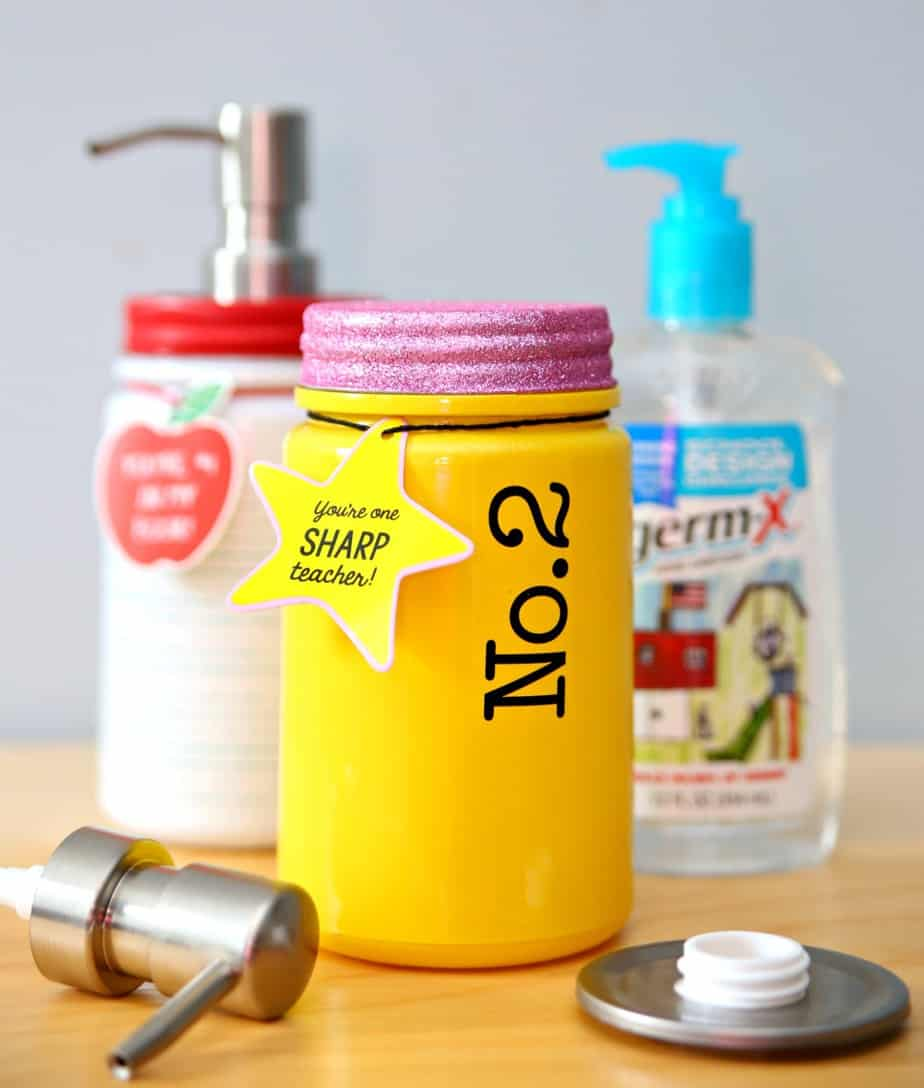 Teacher Hand Sanitizer Soap Dispenser