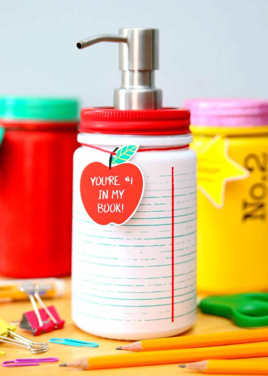 Teacher Hand Sanitizer Soap Dispenser