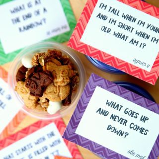 Brain Teaser Lunchbox Notes {Free Printable}