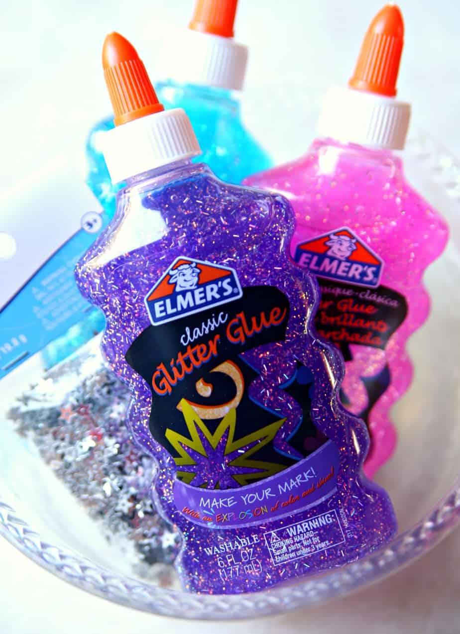 Galaxy Glitter Slime