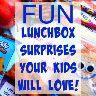 Lunchbox Surprises to Brighten Up the School Day