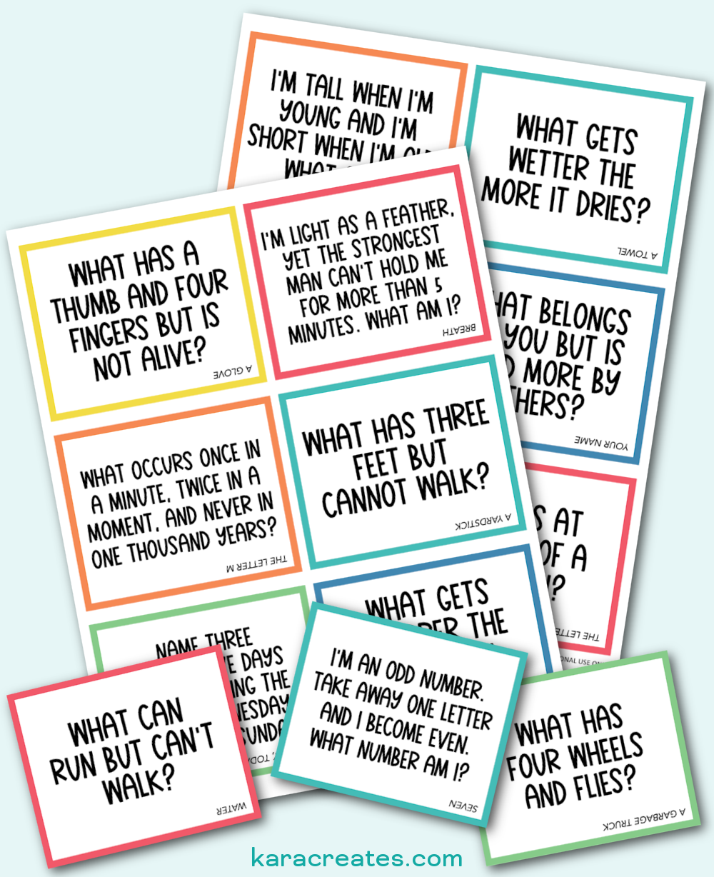 Riddle Lunchbox Notes