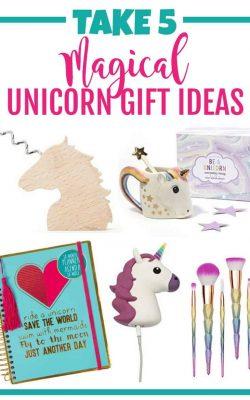 Take 5 magical unicorn gift ideas