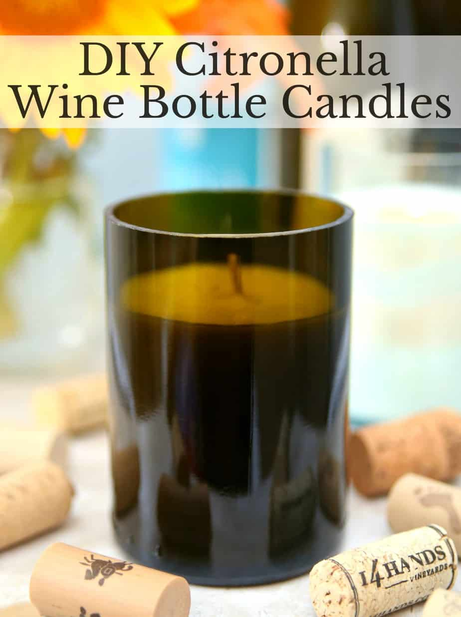 Wine Bottle Candles 6