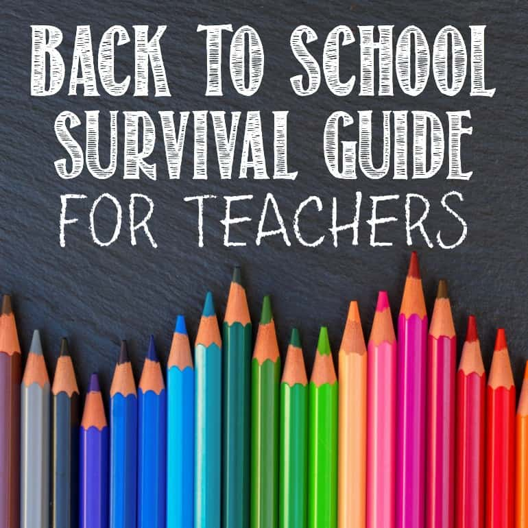 Back to School Survival Guide for Teachers
