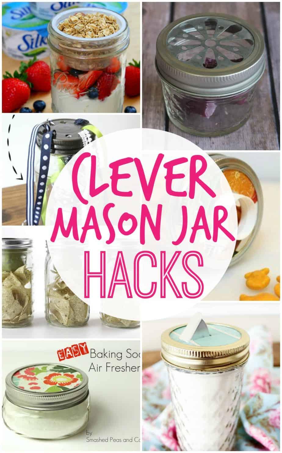 Clever Mason Jar Hacks