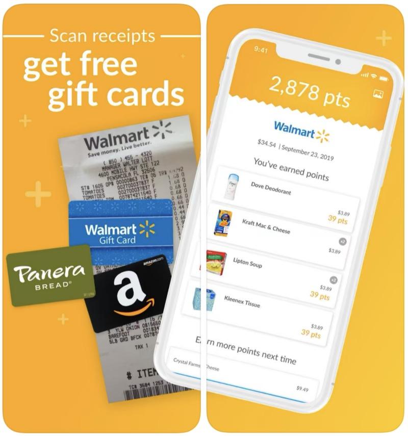 Earn money back from Fetch Rewards App