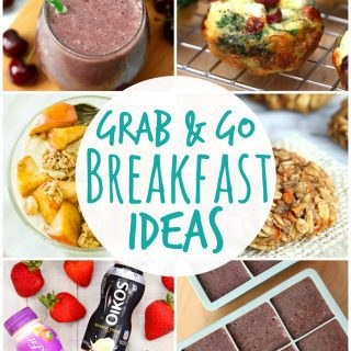 Take Five – 5 Grab and Go Breakfast Ideas