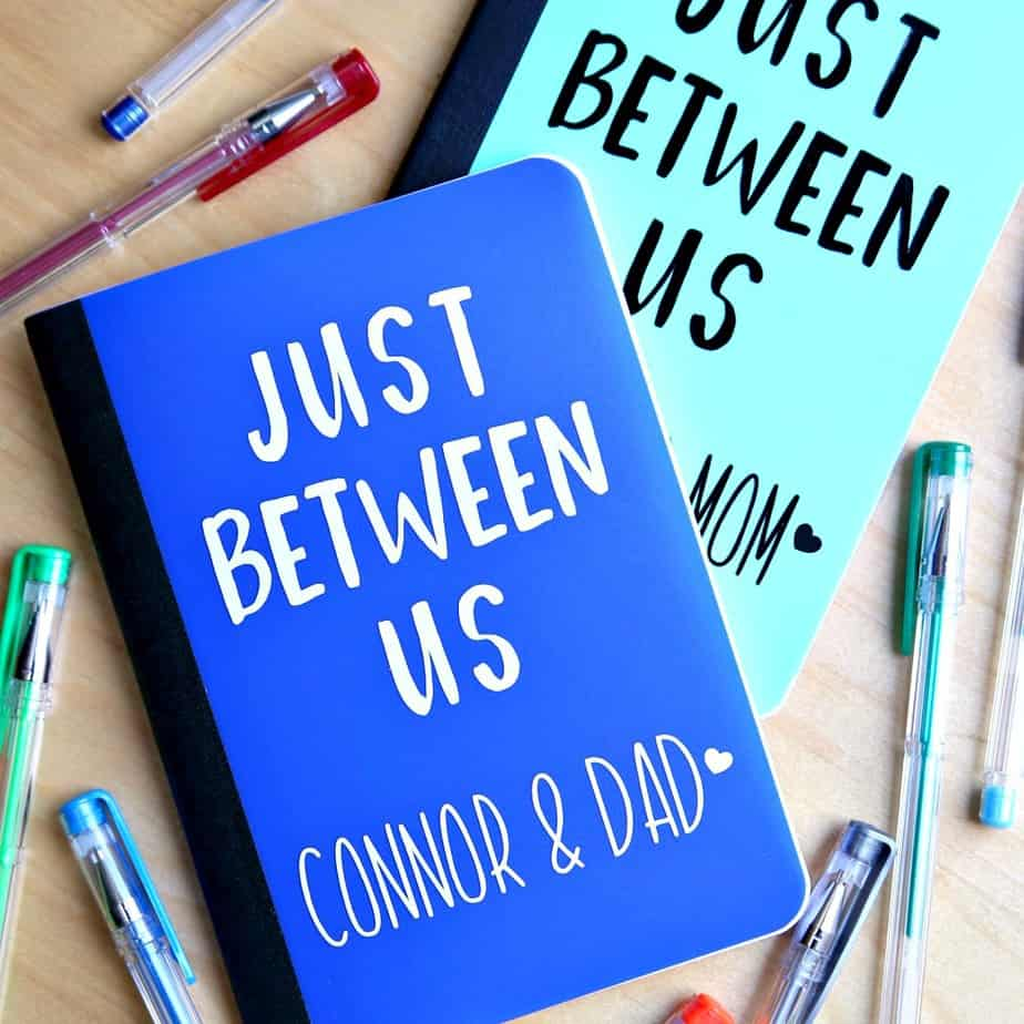 Just Between Us Journals and Journal Prompts