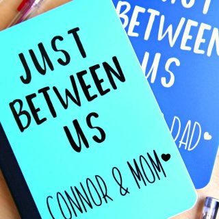 Just Between Us – Parent and Child Journal