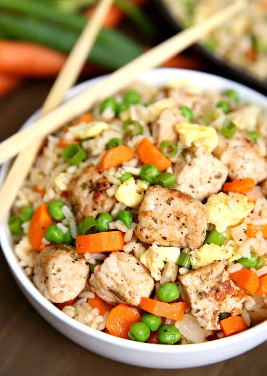 One Pot Pork Fried Rice