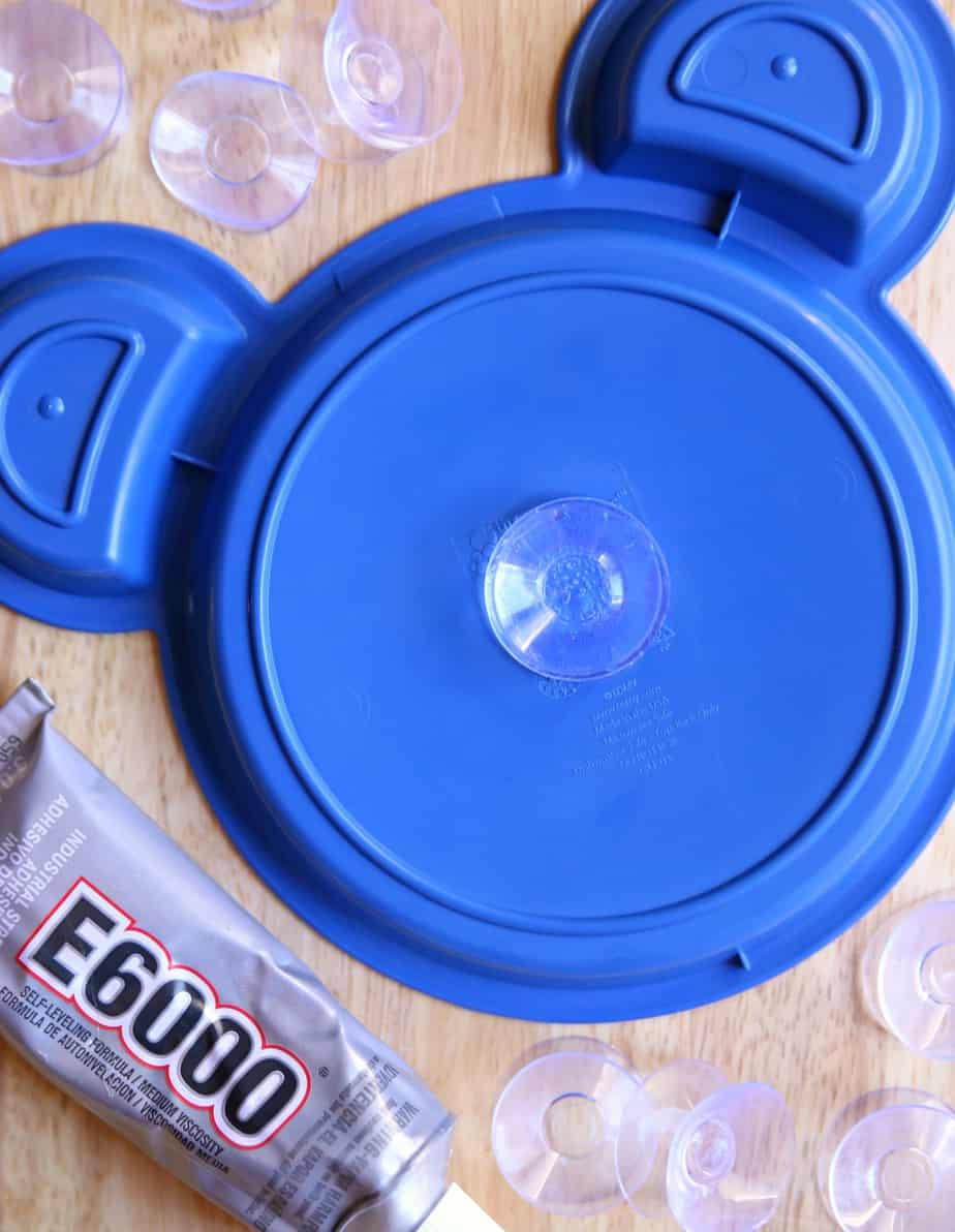 Suction Cup Plate