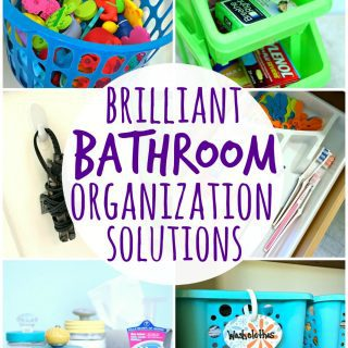 Brilliant Bathroom Organization Solutions