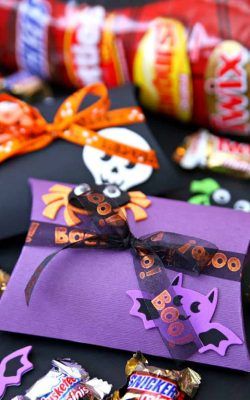 Halloween Boo Pillow Boxes