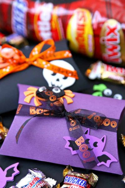 Halloween Boo Pillow Boxes