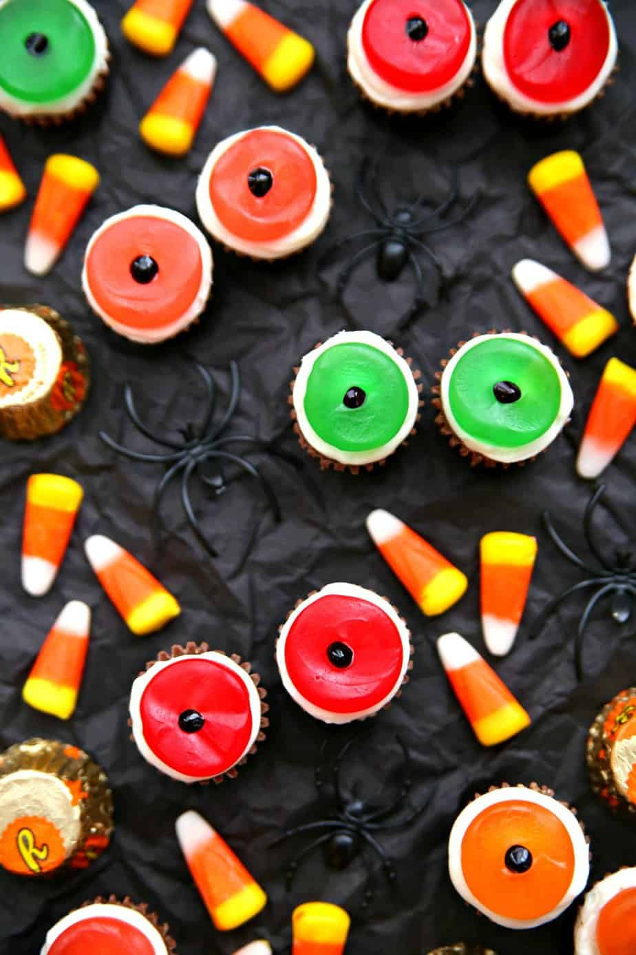 Halloween Monster Eye Candies