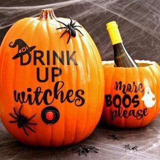 Pumpkin Wine Dispenser