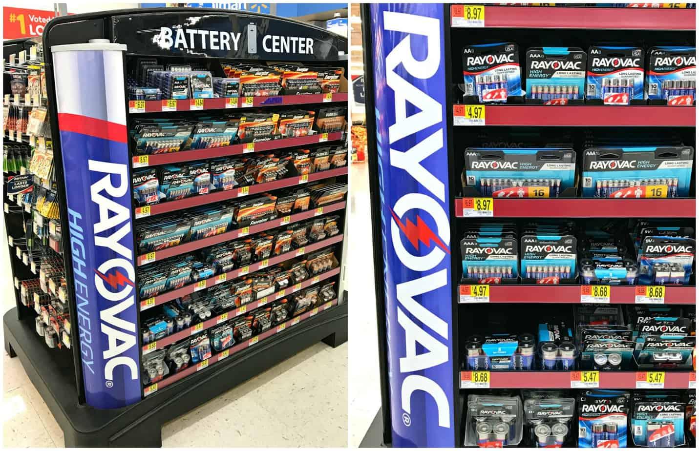 RAYOVAC Batteries at Walmart