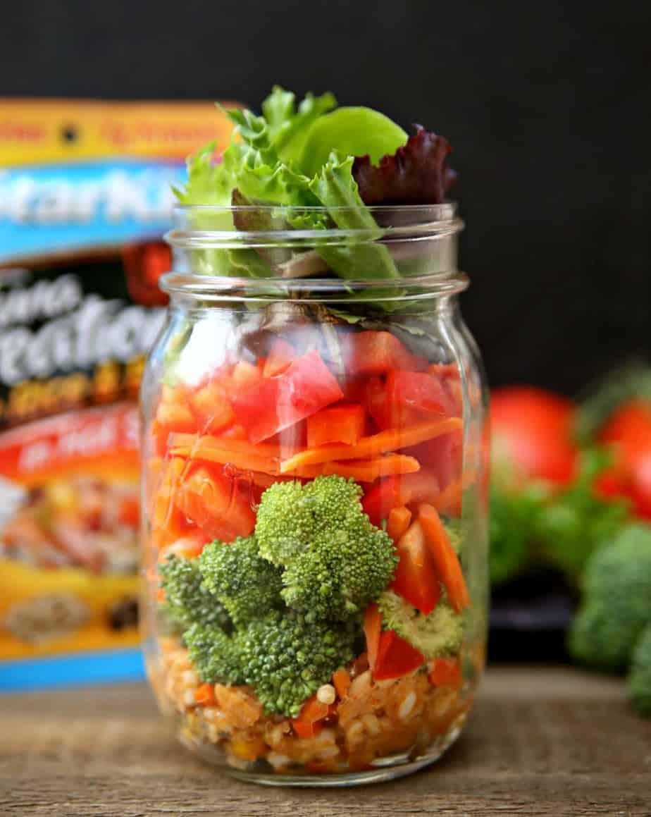 Tuna Mason Jar Salads