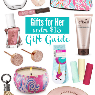Gifts for Her Under $15 Gift Guide