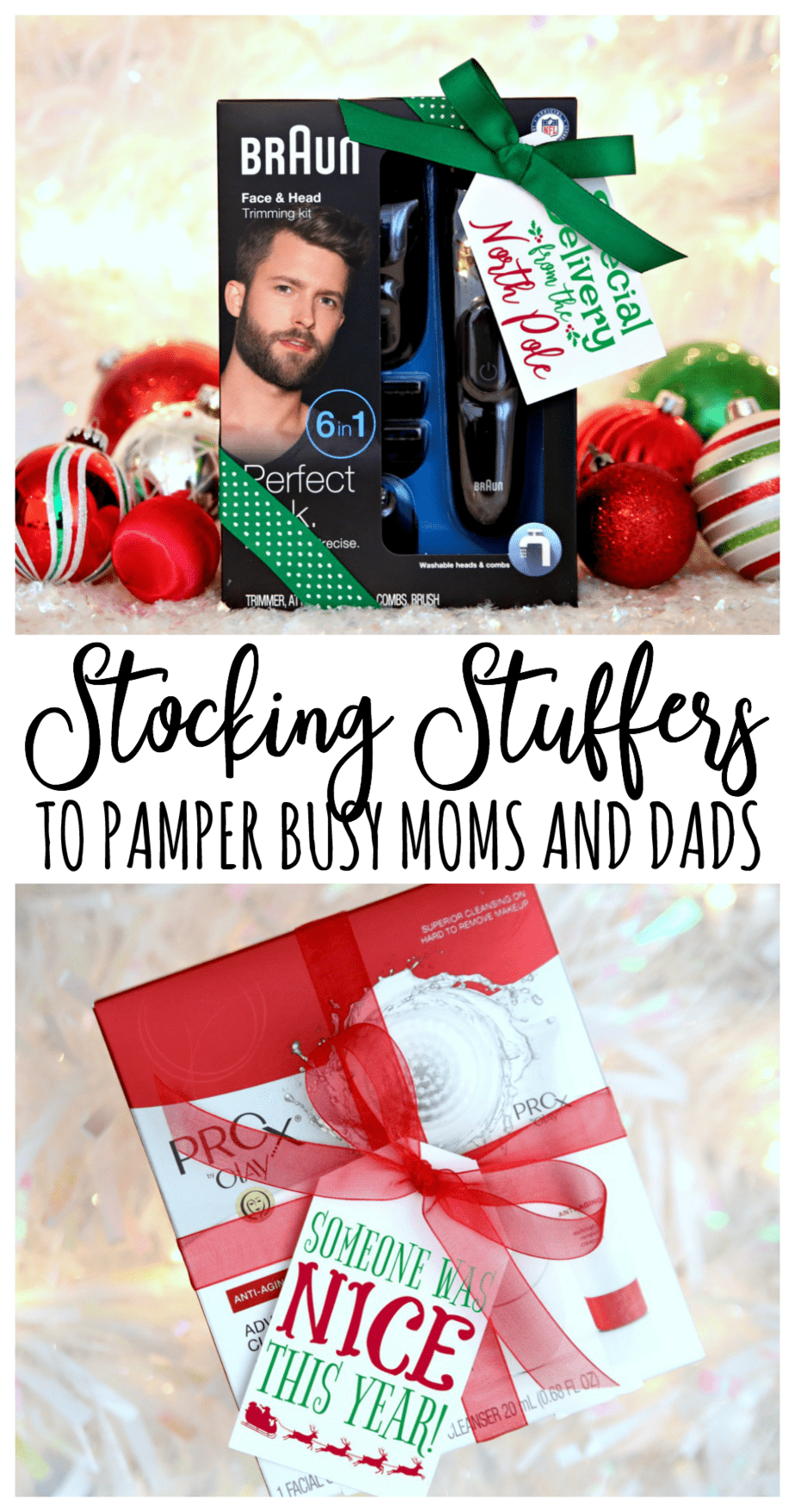 Stocking Stuffers to Pamper Busy Moms and Dads
