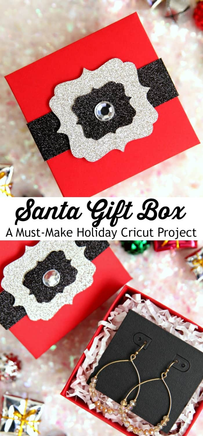 Santa Gift Boxes Cricut Project