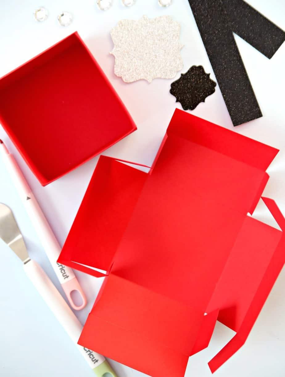 Santa Gift Boxes Step 3